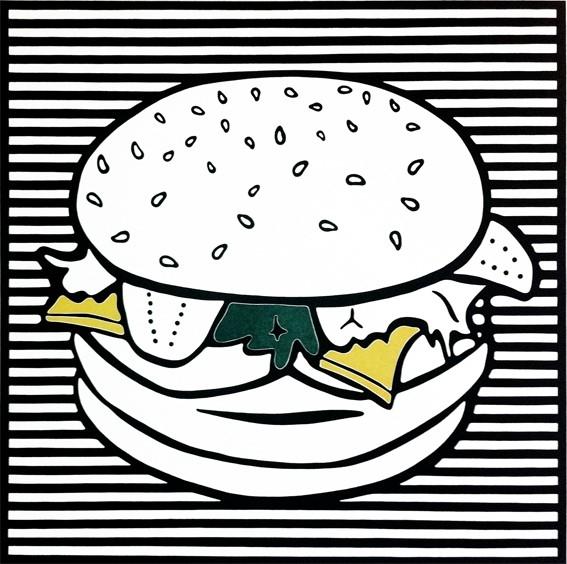 Burger 01, 2013, Unikat