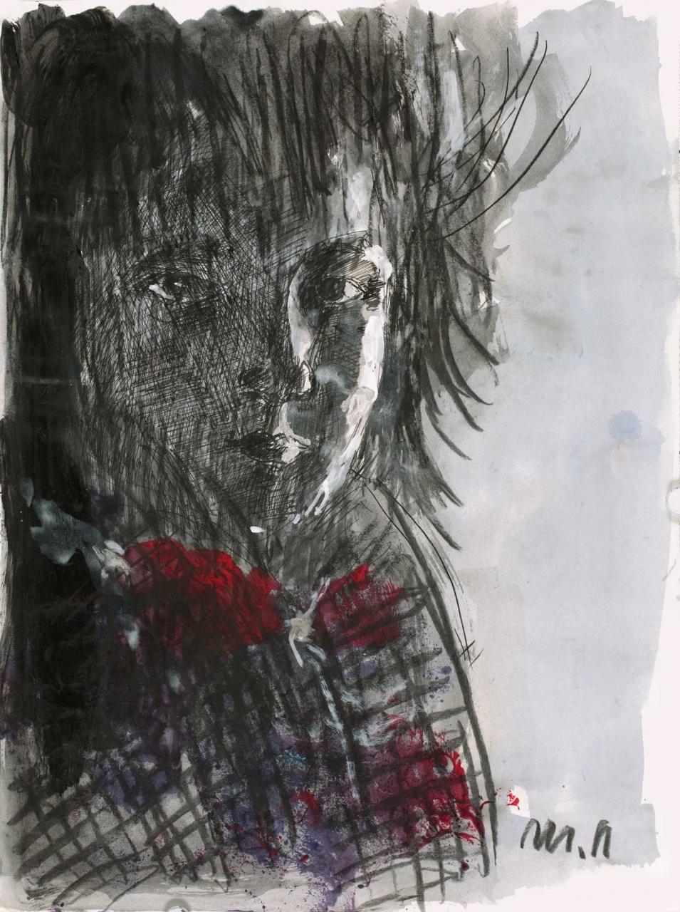 ohne Titel (Bildnis eines Jungen)
