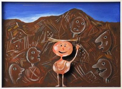 Homage to Jean Dubuffet