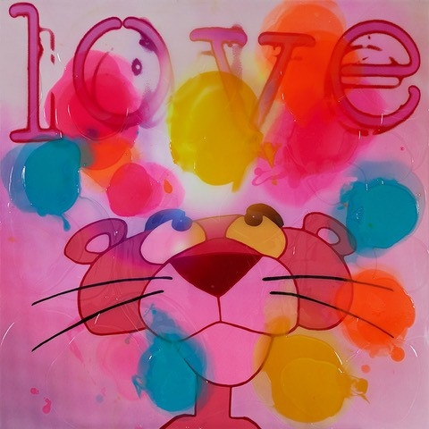 Love the Pink - Epoxy