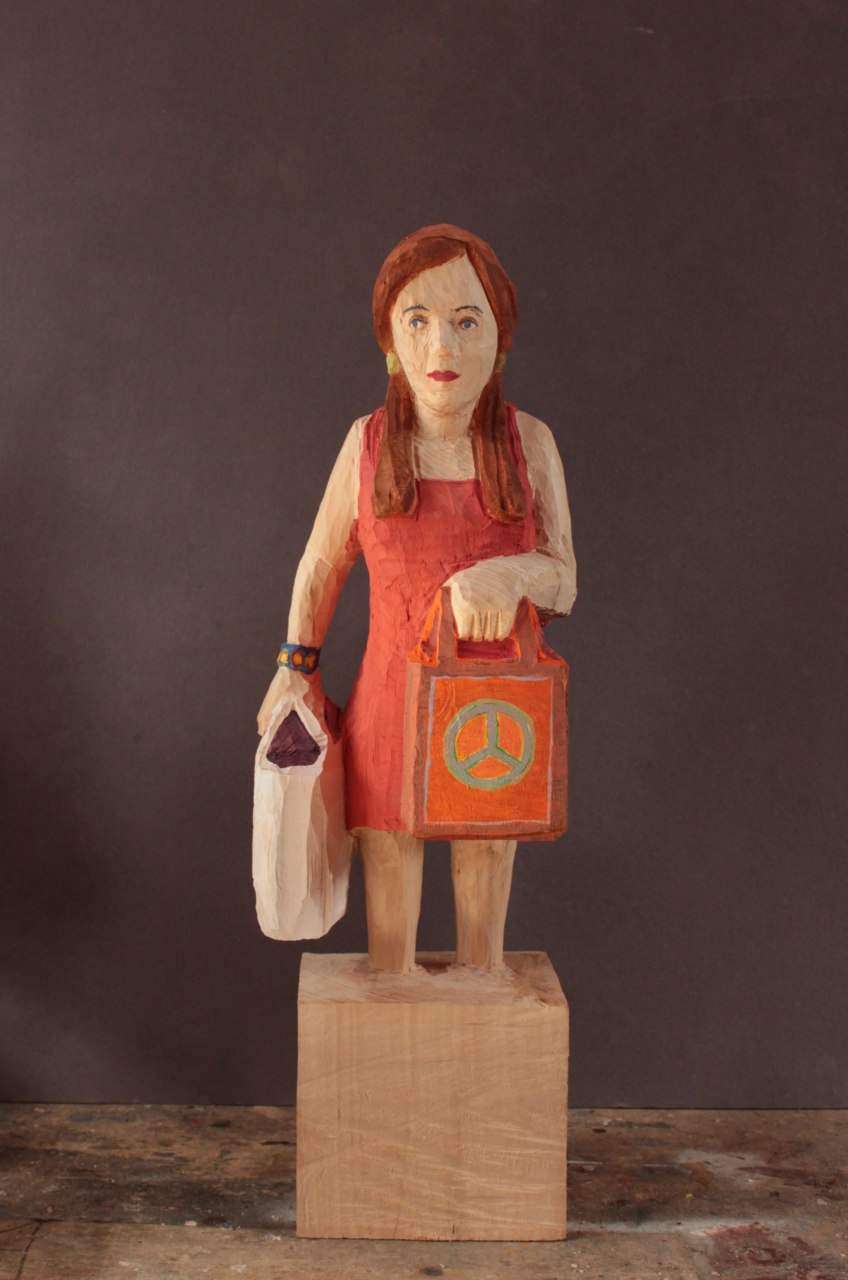 Edekafrau (1416) Hippie Frau