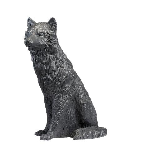 Wolf, signiert
