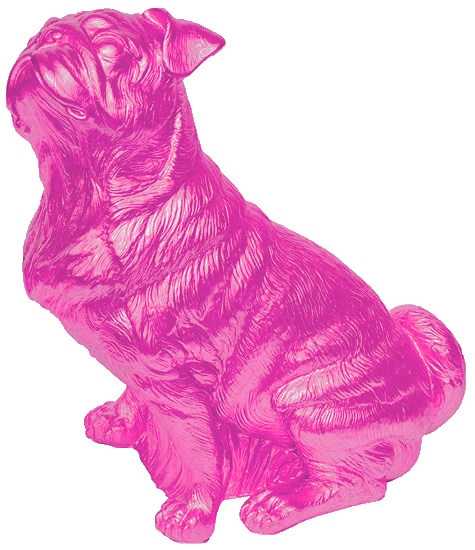 Mops - Pink