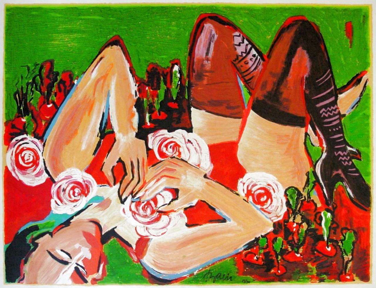 Rosa Diva - 2002 - Papier
