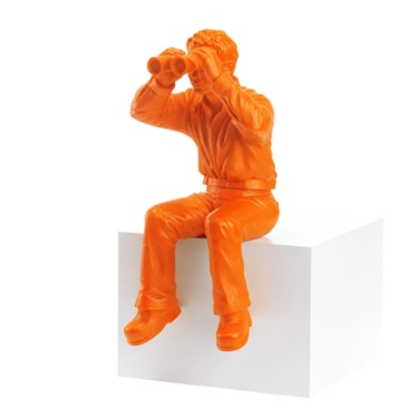 Weltanschauungsmodell II - orange - signiert