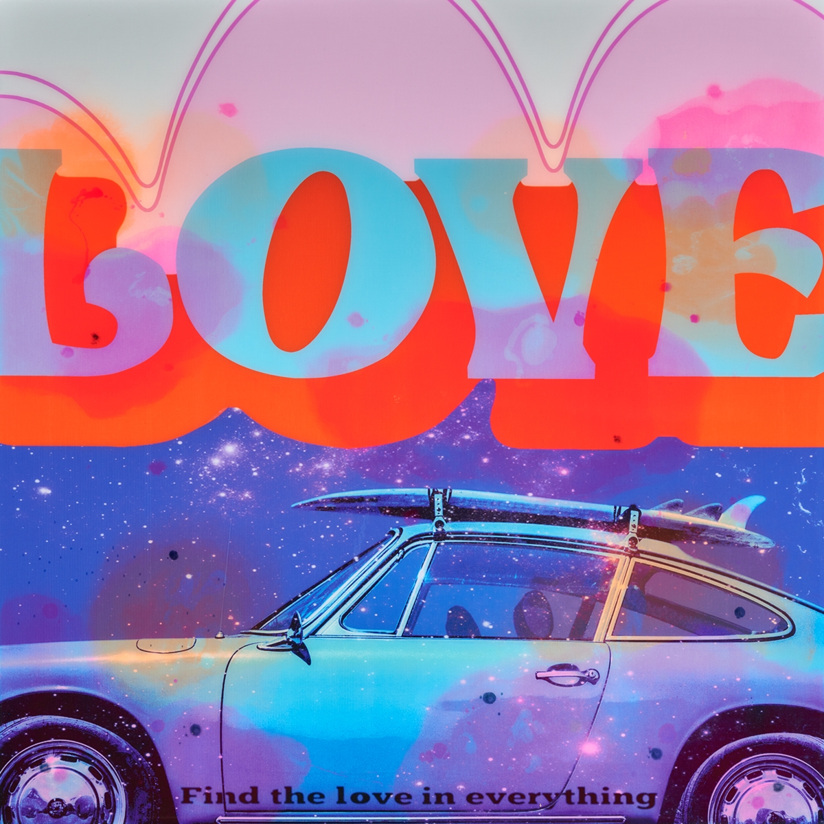 Love is Everything - Epoxy - 2020