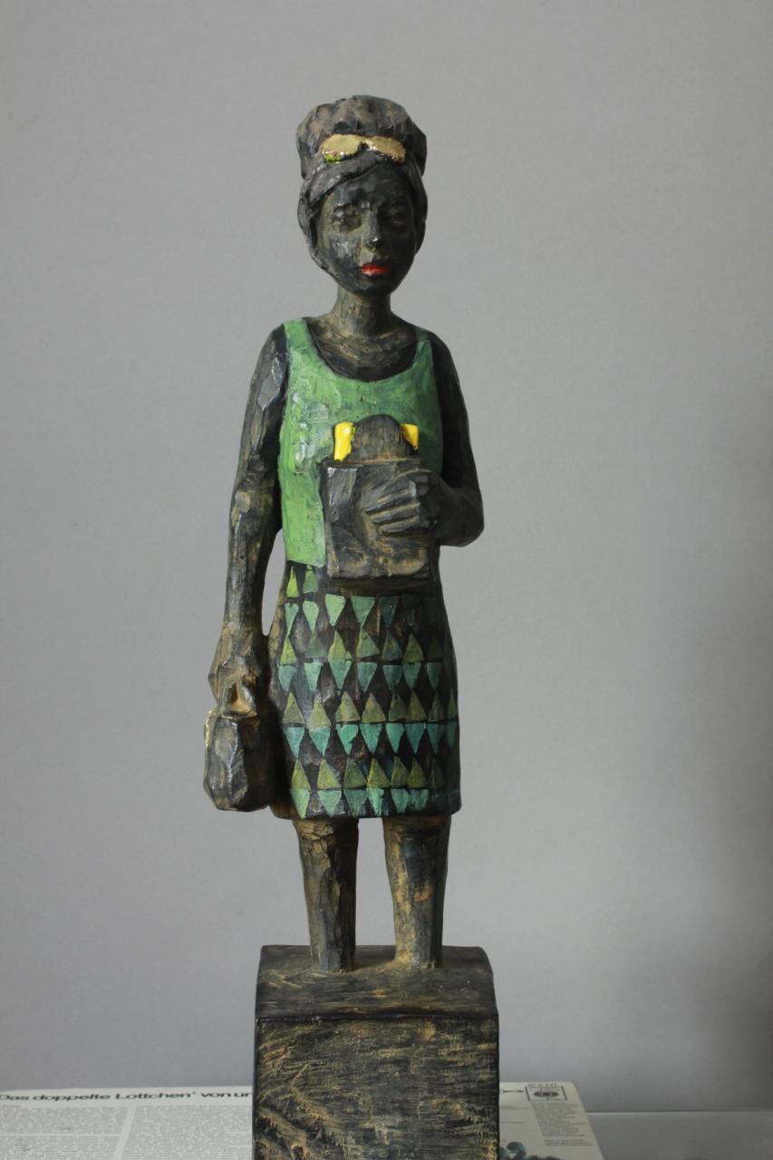Edeka-Bronze mit Butterbrot EA 2/3
