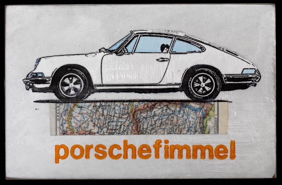 Porschefimmel - weiß - 2020