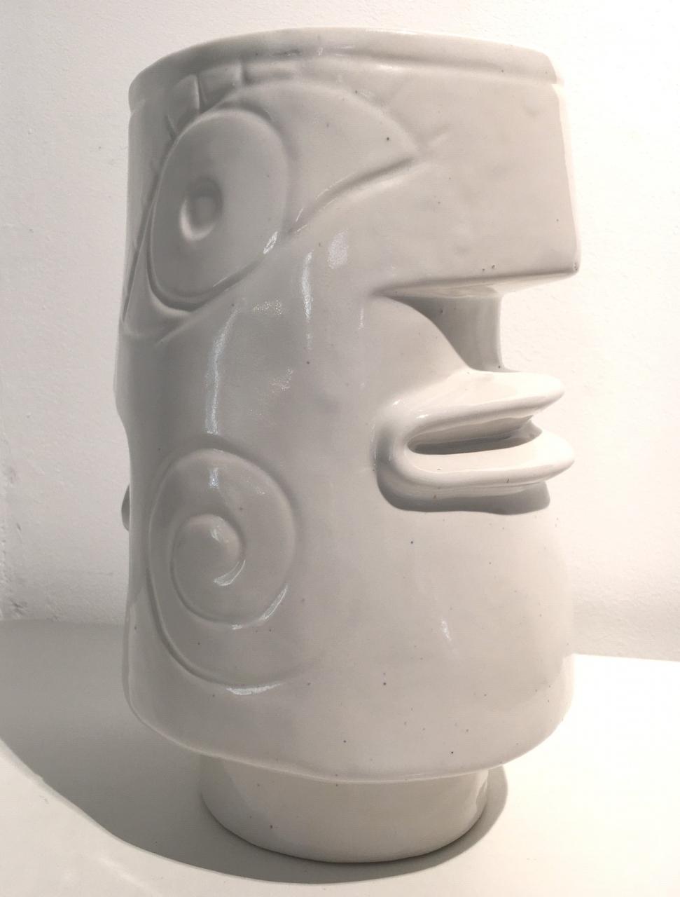 Janus Vase (weiß)