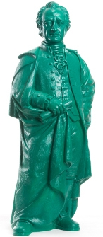 Goethe 2014 - türkisgrün, signiert