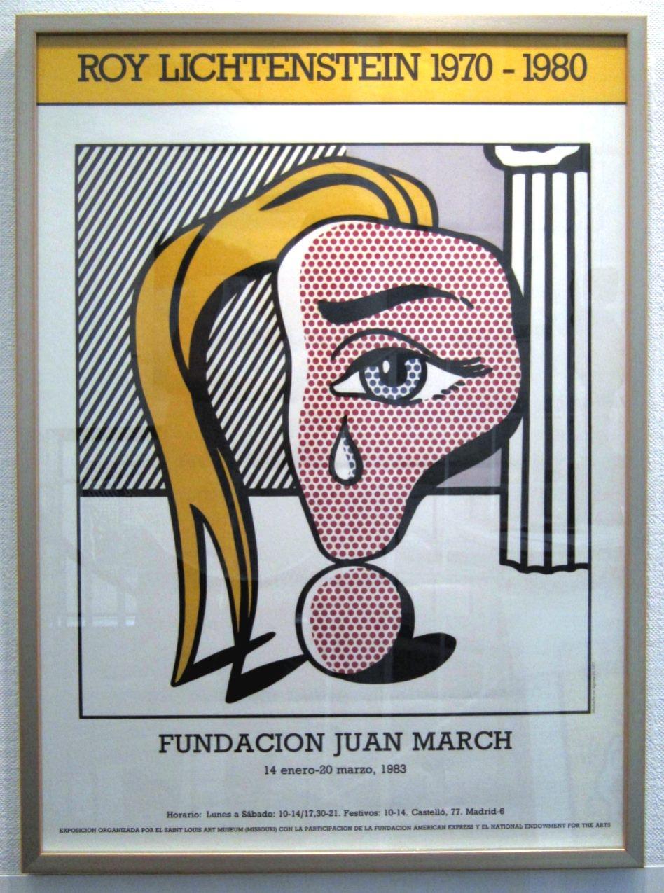 Roy Lichtenstein 1970-1980, gerahmt