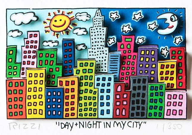 Day and Night in my City