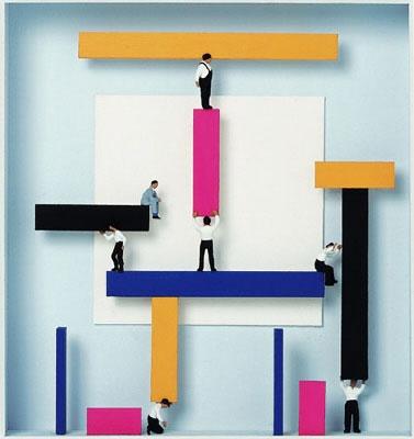 Homage to Theo van Doesburg - Teamwork