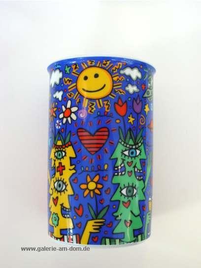 Vase: Flower Faces