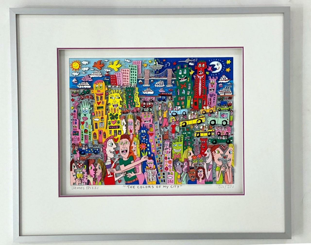 The Colors of My City, im HALBE-Rahmen