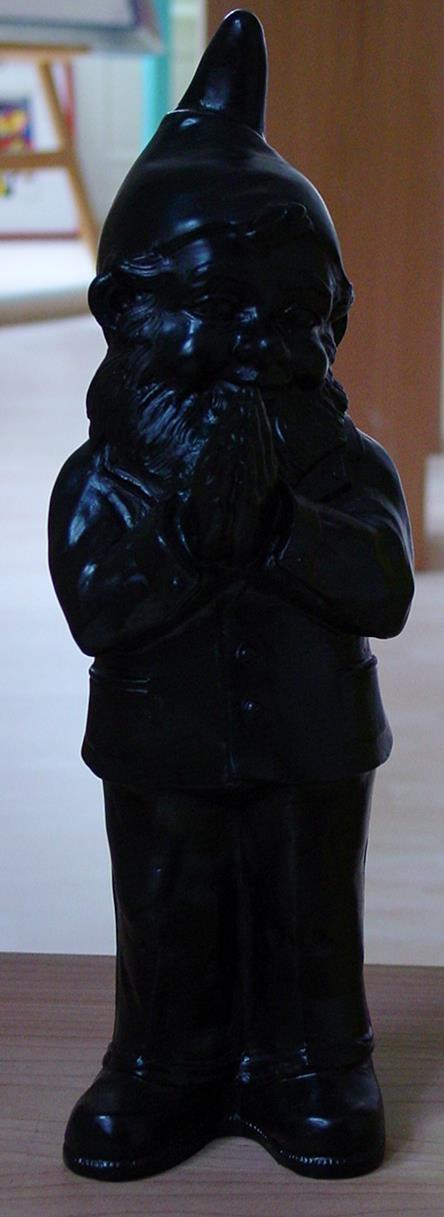 Ben, der betende Zwerg - schwarz