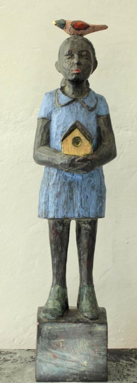 Vogelfrau Bronze 5/9