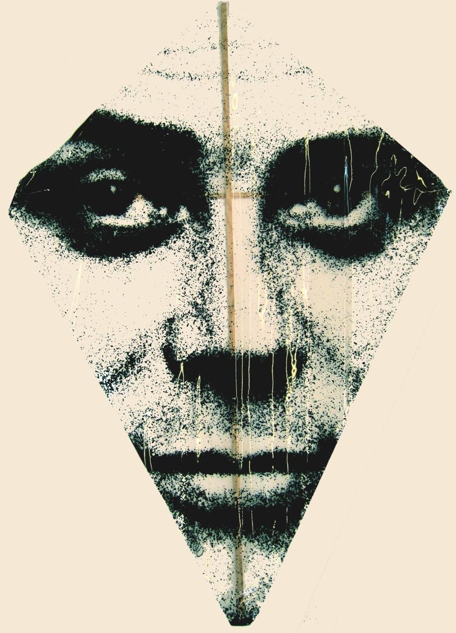 Flying Self-Portrait Drachen 1967